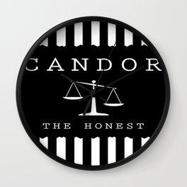 CANDOR - DIVERGENT Wall Clock