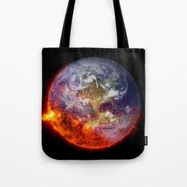 Global Warming Climate Change Tote Bag
