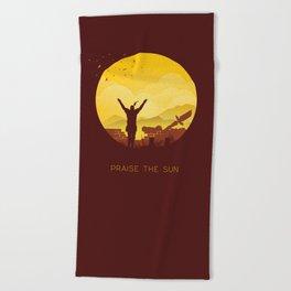 Solaire (Dark Souls) Beach Towel