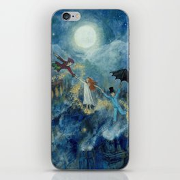 An Awfully Big Adventure - Peter Pan - Nursery Decor iPhone Skin