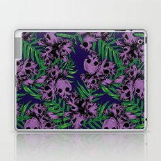 Orchid Skulls Laptop & iPad Skin