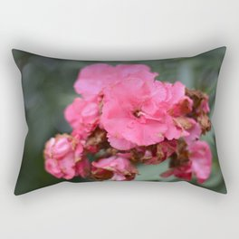 pink beatifl flower of the passion , passion flower , beaty in nature Rectangular Pillow