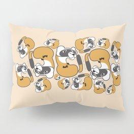 Mustela nigripes Pattern (c) 2017 Pillow Sham