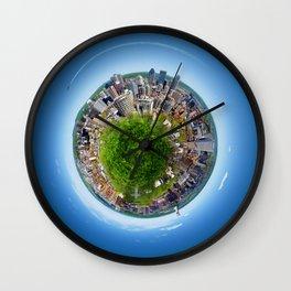 Planète MTL Wall Clock