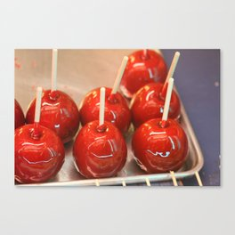 Candy Apples  Canvas Print