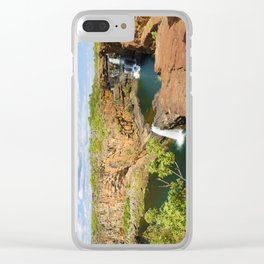Mitchell Falls Clear iPhone Case