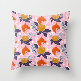 Derby Girl Throw Pillow