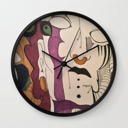 portland faces Wall Clock