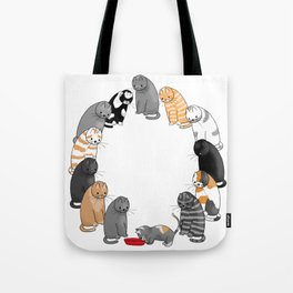 A Cat's Patience Tote Bag