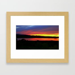 Sunrise over Ben'Nevis - Tasmania Framed Art Print