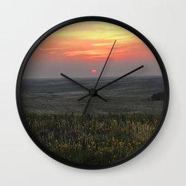 Colorado Sunrise Wall Clock