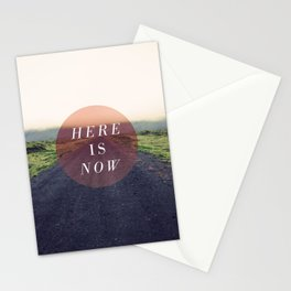 Here Is Now II Stationery Cards