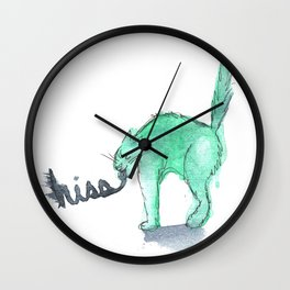 Hiss Wall Clock