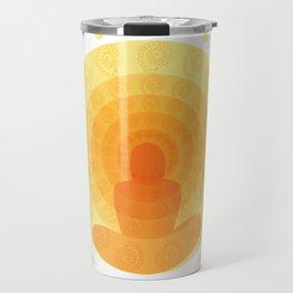 Shiny mandala Travel Mug