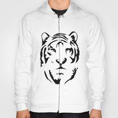 Minimalistic Tiger Face Hoody