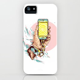 Hypnotizing Cell Phone iPhone Case
