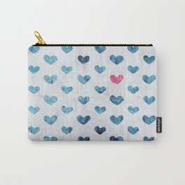 One Red Heart Carry-All Pouch