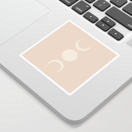 Moon Minimalism - Ethereal Light Sticker