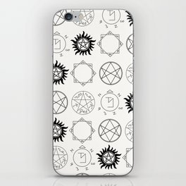 Supernatural Sigils and Symbols iPhone Skin