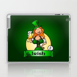 St. Patrick's Day Irish Maiden Laptop & iPad Skin