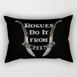 D&D - Rogues Do It Rectangular Pillow