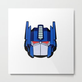 Optimus Metal Print