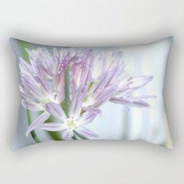 Flower   Flowers   Purple Chive   Kitchen Garden   Nadia Bonello Rectangular Pillow
