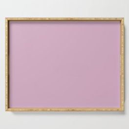 Pink Lavender - Fashion Color Trend Spring/Summer 2018 Serving Tray