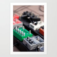 yowamushi pedal Art Prints featuring Pedal to the Metal by Benoit Gagnon
