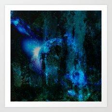 universe wall Art Print