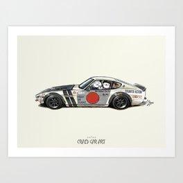 ozizo art 0001 Art Print