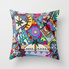 Shira's Tree Throw Pillow