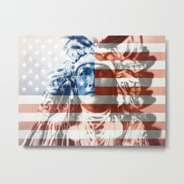 Native Americans in the United States Metal Print