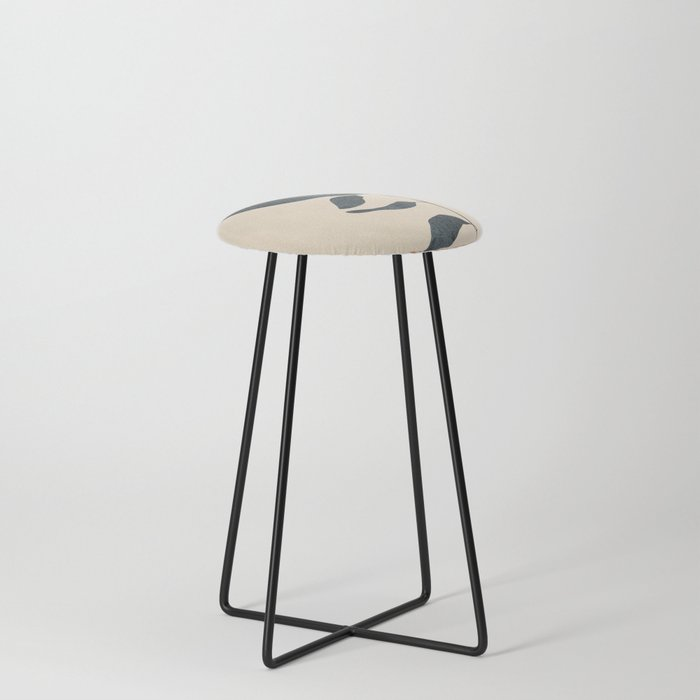 Summer Leaves Counter Stool