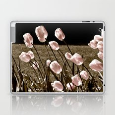 Pink Tulips and Moonlight Laptop & iPad Skin
