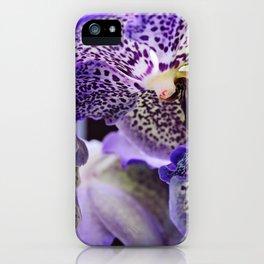 Aliens. Orchids in Keukenhof iPhone Case
