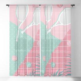 Indian Wells #society6 #decor #buyart Sheer Curtain