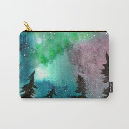 Northern Lights - Mint Green Palette Carry-All Pouch