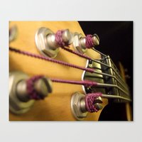 bass Canvas Prints featuring Bass by Andrea Anderegg Photography