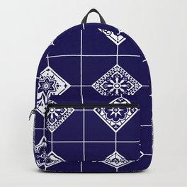 Talavera Mexican Tile – Porcelain Palette Backpack