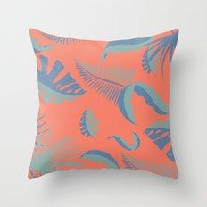 Palmtree Paradise Throw Pillow