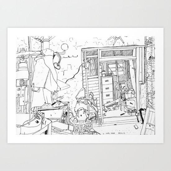 Lisa's forge Art Print