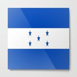 flag honduras,america,latine,spanish,Honduran, Catracho,Mesoamerican,Tegucigalpa,San Pedro,Choloma Metal Print