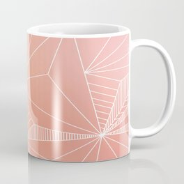 Paradise Geo Blush Coffee Mug