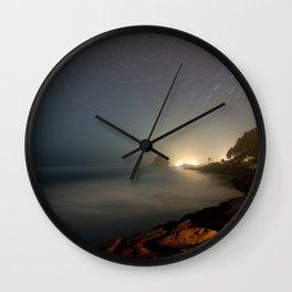 Neskowin Startrails Wall Clock