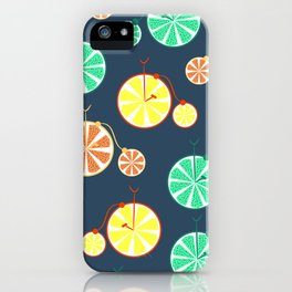 Fruity bikes iPhone Case