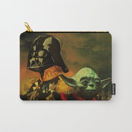 Portrait of Lord Vader & Master Yoda Carry-All Pouch