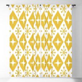 Mid Century Modern Atomic Triangle Pattern 116 Blackout Curtain