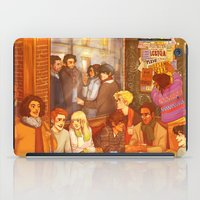 grantaire iPad Cases featuring Les Misérables: A Group Which Almost Became Historic by batcii
