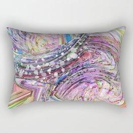 RAINBOW IN A BLENDER ABSRACT Rectangular Pillow